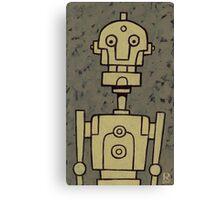 Robot Bob Canvas Print