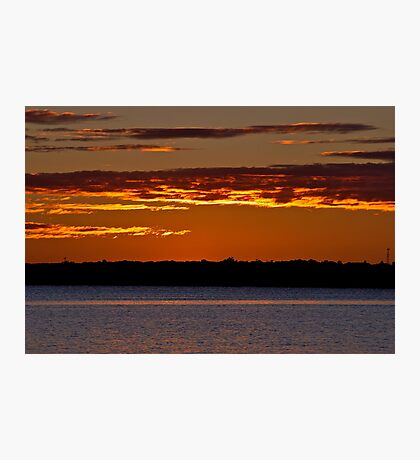 Sunrise Downunder. 25-3-11. Photographic Print