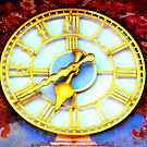 Clock in Bad Toelz by ©The Creative  Minds