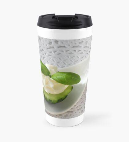 Cucumber and Basil's Friendship Travel Mug