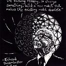 """Richard Buckminster Fuller"" by Donna Raymond"
