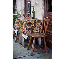 Table For Two Photographic Print