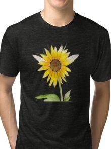 Jennifer's Flower Tee Shirt Tri-blend T-Shirt