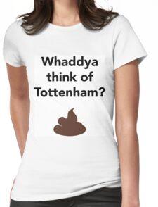 Whaddya think of Tottenham? Womens Fitted T-Shirt