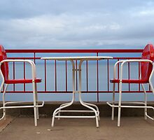Red, White & Blue on Superior by AnnaLouise