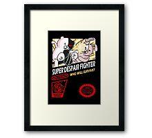 Super Despair Fighter Framed Print