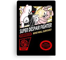 Super Despair Fighter Canvas Print