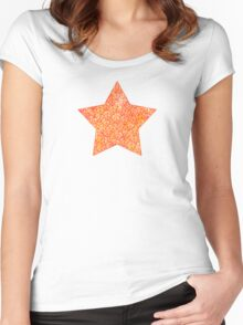 Autumn foliage Women's Fitted Scoop T-Shirt
