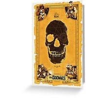 Goonies Greeting Card