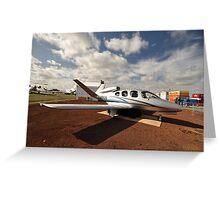 Cirrus Jet,Avalon Airshow,Australia 2015 Greeting Card