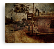 Highway 90 Canvas Print