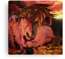 dragons offer Canvas Print