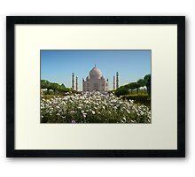 Tajmahal-1/2011 Framed Print