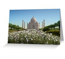 Tajmahal-1/2011 Greeting Card