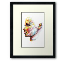 Head Pointed Out Framed Print