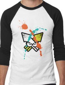Splatoon - Turf Wars 4 [WHITE Var] Men's Baseball ¾ T-Shirt
