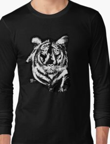 TIGER IN CHALK COLLECTION  Long Sleeve T-Shirt