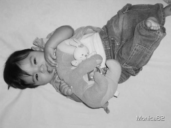 Baby's best friend by Monica82