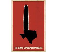 Texas Chainsaw, Massacre Photographic Print