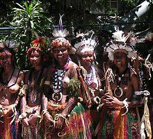 Papua New Guinea Dancing 8 by Ian McKenzie