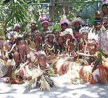 Papua New Guinea Dancing 11 by Ian McKenzie