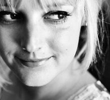 B/W Portrait by Trish Woodford
