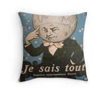 Jules Alexandre Grün Je Sais Tout 2 Throw Pillow