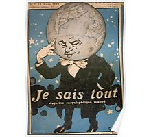 Jules Alexandre Grün Je Sais Tout 2 Poster