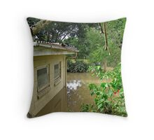 Brisbane Floods 2011 - Inundation - Out Back Throw Pillow