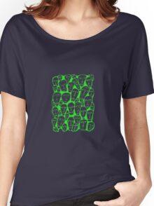 Caras verdes Women's Relaxed Fit T-Shirt