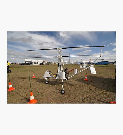 Helicopter VH-XRN,Avalon Airshow,Australia 2015 Photographic Print