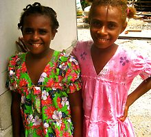 girls of vanuatu by Rosalinde Jewell
