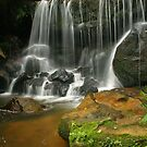 Waterfall at Leura by Michael Matthews