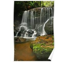 Waterfall at Leura Poster