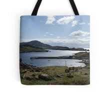 Teelin Pier from the Holy Well Tote Bag