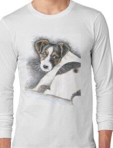 Jack Russell Terrier Puppy Long Sleeve T-Shirt
