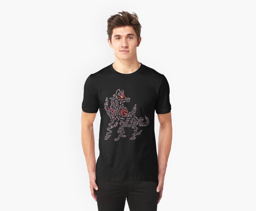 Okami Amaterasu - Cherry Blossom Form [BLACK] by Daniel Bevis