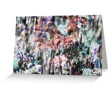 Botanical Abstract in Pastel XI Greeting Card