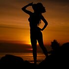 Sexy Woman Silhouette by 104paul