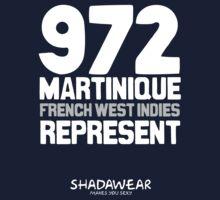 972 Martinique, FWI. Represent Kids Tee