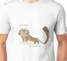 Snow Leopard Caricature Unisex T-Shirt