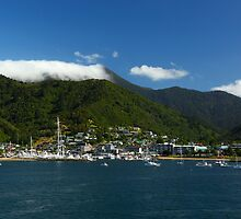 Picton Harbour New Zealand by 104paul