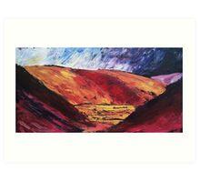 'Littondale, Sunshine and Shadow' Art Print
