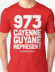 973 Cayenne, Guyane. Represent T-Shirt