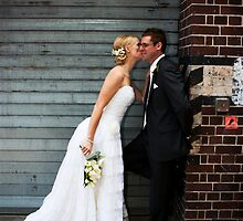 Wedding - Scott and Margaret, outside by Daniel Peut