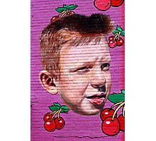 da cherry kid Photographic Print