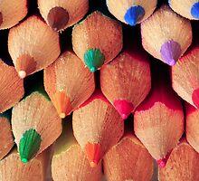 Coloured Pencils by Rachel Slater