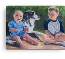 Furry Feelin' Friend Canvas Print