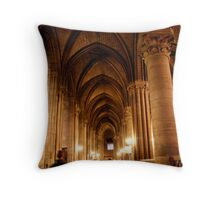 Ghostly cathedral Throw Pillow