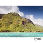 Kahana Bay, Oahu Hawaii by Ryan Epstein